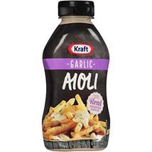 Kraft Garlic Aioli 12 oz Bottle