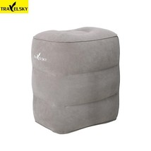 Flight Footrest Pillow Two Valves Inflatable Travel Pillow Foot Pad Foot... - €39,22 EUR