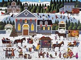 Buffalo Games - Charles Wysocki - Churchyard Christmas - 1000 Piece Jigs... - $16.04