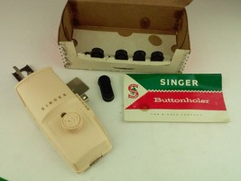 Vintage Singer Buttonholer Automatic Buttonhole Stitch Attachment - $24.69