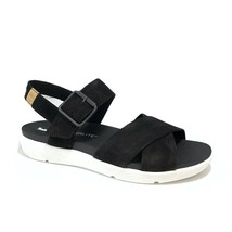 Timberland Women's Wilesport Black Leather Strap Sandals A27T6 - $59.99