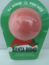 Da Bomb Santa Bath Bomb Sugar Plum Fizzer And Surprise Inside 3.5oz