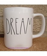 Rae Dunn DREAM Coffee Mug Tea Cup Artisan Collection Farmhouse Letters - $12.00