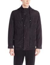 Cole Haan 535SN967 Men's Black 3 In 1 Hooded Field Parka Jacket Coat M - $79.99