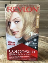 Revlon Colorsilk Hair Color With 3D71 Beautiful Technology Kit, Gray Coverage - $12.16