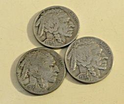 Buffalo Nickel 1936 P, 1936 D and 1936 S  AA20BN-CN6093 image 11
