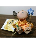 """Adorable! """"Thank You"""" Angel Cheeks Russ Kirk's Kritters 2001 - $11.88"""