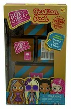 Boxy Girls Fashion Pack Shipping Boxes Mystery 4 Pk - $9.79