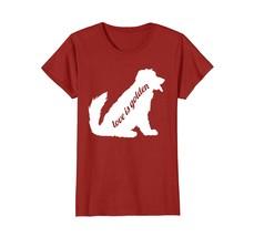 Love Is Golden Retriever Funny Dog T Shirt - $19.99+