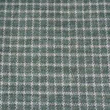 "Vintage 1970's 1960's Worsted Wool Plaid Fabric 60""x100"" - $64.34"