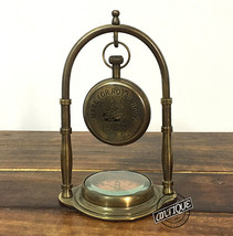 Made For Royal Navy Table/Desk Clocks Brass Mantel Clock Analog Gift Item Decors - $33.76