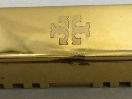 Tory Burch FitBit Gold Tone Holder Hinge Bangle Case Band Bracelet BT2426 Flex image 5