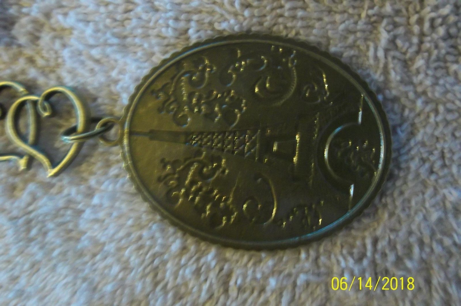# purse jewelry bronze color keychain backpack  dangle charms #17 lot of 2 image 4