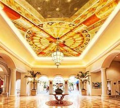 3D Gold Picture 2 Ceiling WallPaper Murals Wall Print Decal Deco AJ WALL... - $34.47+