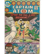 Modern Captain Atom #84 After The Fall A New Beginning Blue Beetle Ted Kord - $2.95