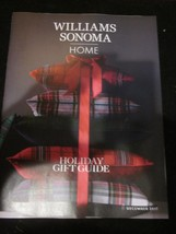 WILLIAMS-SONOMA HOME CATALOG DECEMBER 2017 HOLIDAY GIFT GUIDE BRAND NEW - $9.99