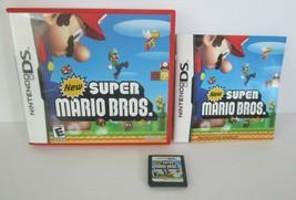 Super Mario Bros.(Nintendo DS 2006) Game, RED Case, Manual Booklet Authe... - $20.78