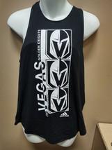 adidas Las Vegas Knights Fashion Tank Top Womens Small Black HB8830 - $19.00