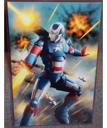 Iron Man Iron Patriot Glossy Art Print 11 x 17 In hard Plastic Sleeve - $24.99
