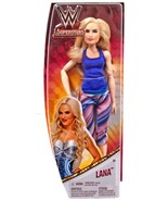 "WWE Superstars Lana 11"" Doll Wrestling Mattel - $14.00"