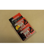 Memorex DBS Normal Bias Audio Cassette 2 Pack DBS 60 60 Minutes TAAU-MED... - $7.16