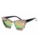 Fashion 2018 Oversized Sunglasses Women Brand Designer Luxury Rhinestone... - $23.99