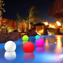 Modern Home Deluxe Floating LED Glowing Sphere w/Infrared Remote Control - €55,62 EUR