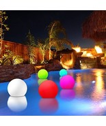 Modern Home Deluxe Floating LED Glowing Sphere w/Infrared Remote Control - $64.16