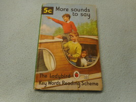 Vintage 1965  Lady Bird Book More Sounds To Say - $8.05