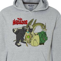 The Herculoids hoodie sweatshirt retro saturday morning cartoons 1970s 1980s image 2
