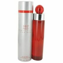 Perry Ellis 360 Red by Perry Ellis Eau De Toilette Spray 6.7 oz for Men - $44.64