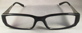 Black Prada Eyeglasses with Silver Accent with Case - $103.95