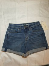 Universal Threads Goods Co. Women's High Rise Midi Cuffed Shorts Size 2/26 - $20.57