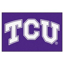 """Fanmats NCAA TCU Horned Frogs Starter Mat Area Rug 19""""x 30"""" Delivery 2-4 Days - $24.74"""
