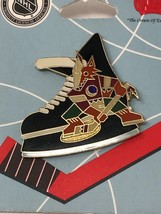 NHL Phoenix Arizona Coyotes VTG Logo Pin Skate with Coyote New NOS - $11.83