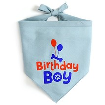 JOYLOADER Dog Birthday Bandana Boy - Dog Birthday Party Supplies - Birth... - $15.02
