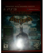 Batman Arkham Asylum PS3 [Mint Condition][CIB][GotY][BLUS30515] - $19.86 CAD