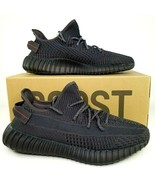 adidas Yeezy Boost 350 V2 Non-Reflective Shoes Mens Size 9.5 Black IN HAND - $650.50