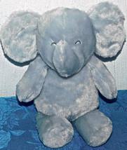"Carters Child Mine Elephant 9"" Plush Rattle Gray Crinkle Ears Soft Baby ... - $23.36"