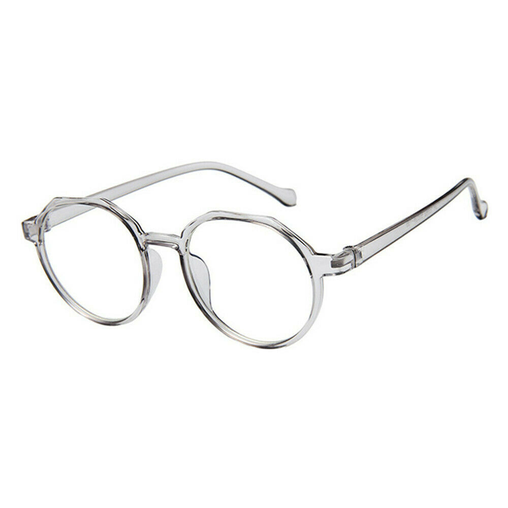 New Oval Fashion Classic Clear Lens Glasses Frame Retro Casual Daily Eyewear image 8