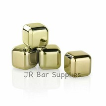 New Stainless Steel Ice Cube Tongs & Storage Box Chilling Stone Chiller ... - $21.02
