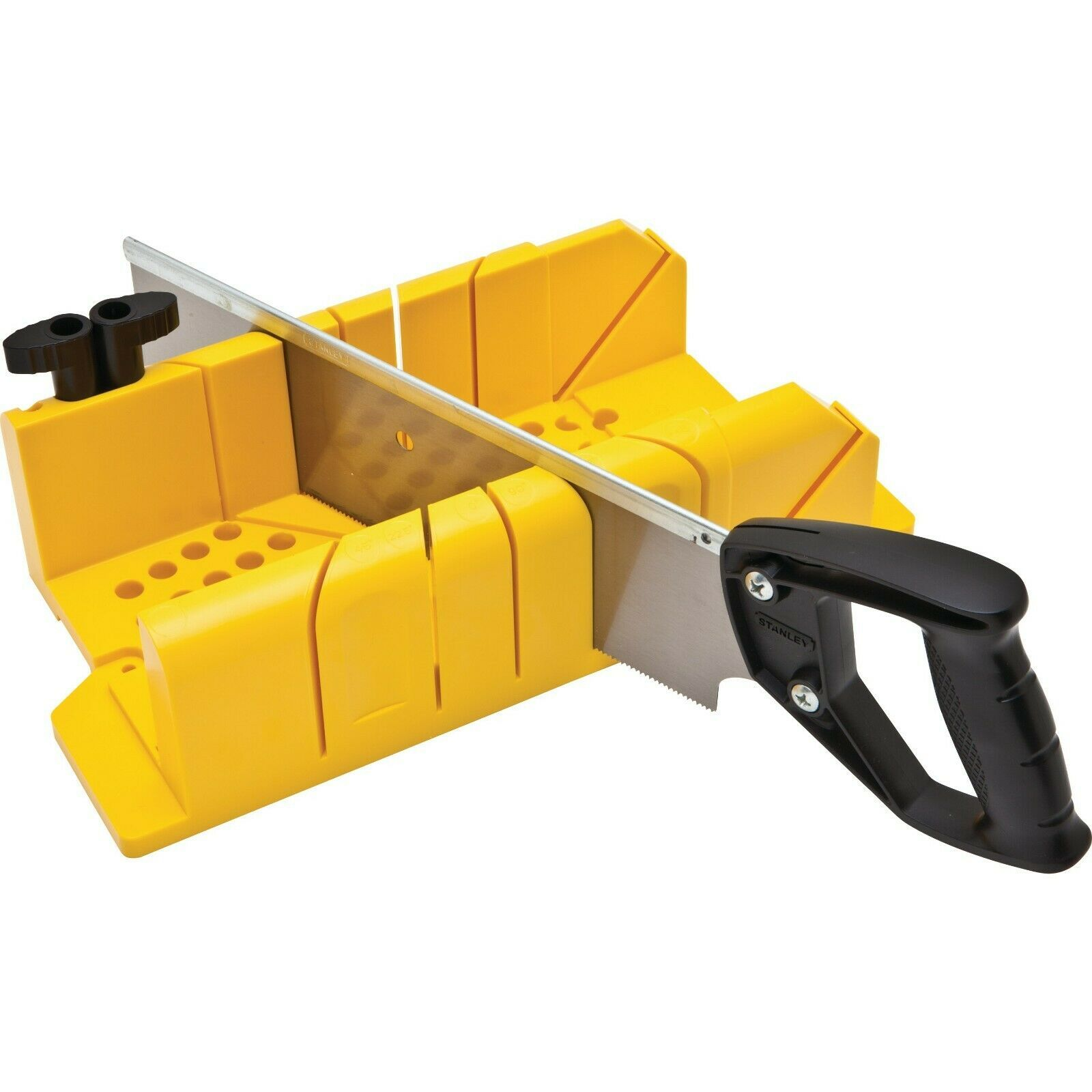 Stanley 20-600 Clamping Miter Box With Saw - $24.74
