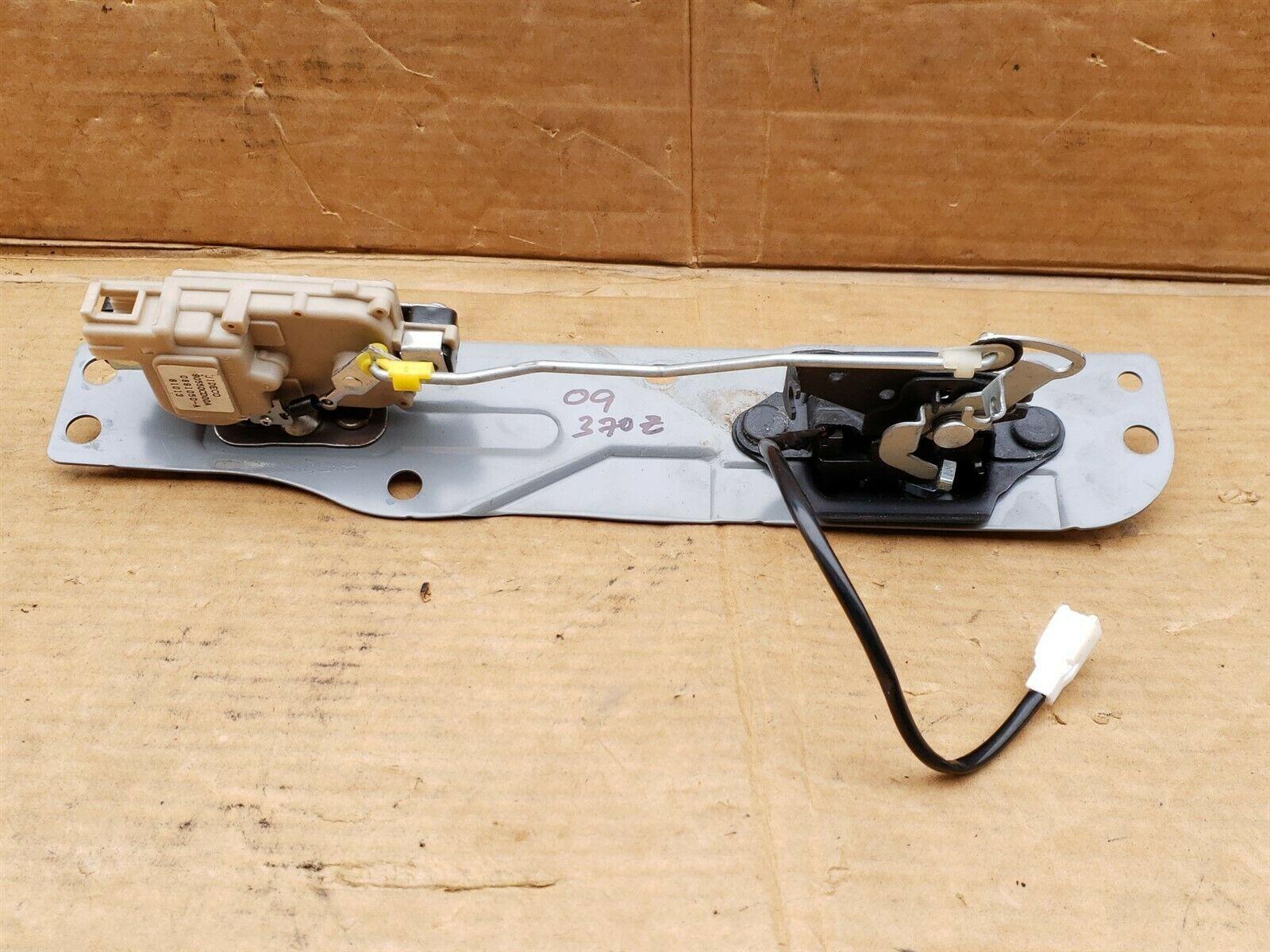 08-12 Nissan 370z Trunk Lid Liftgate Release Lock Power Actuator Motor & Latch