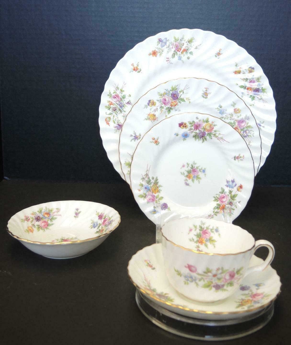 Vintage Minton Marlow Six Piece Place Setting - $37.99
