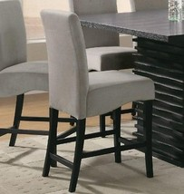 Coaster Barstool Black Set Of 2- 102069GRY CHAIR NEW - $282.90