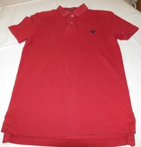 American Eagle Outfitters XS Athletic Fit Mens Short Sleeve Polo Shirt GUC  - $260,91 MXN