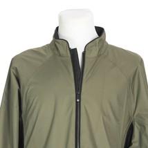 FootJoys DryJoys Water Wind Resistant Golf Jacket Mens Large Green Black - $44.43
