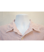 American Eagle Midweight Pinstriped Cotton Button-Front Shirt, Men's XL 8745 - $10.42