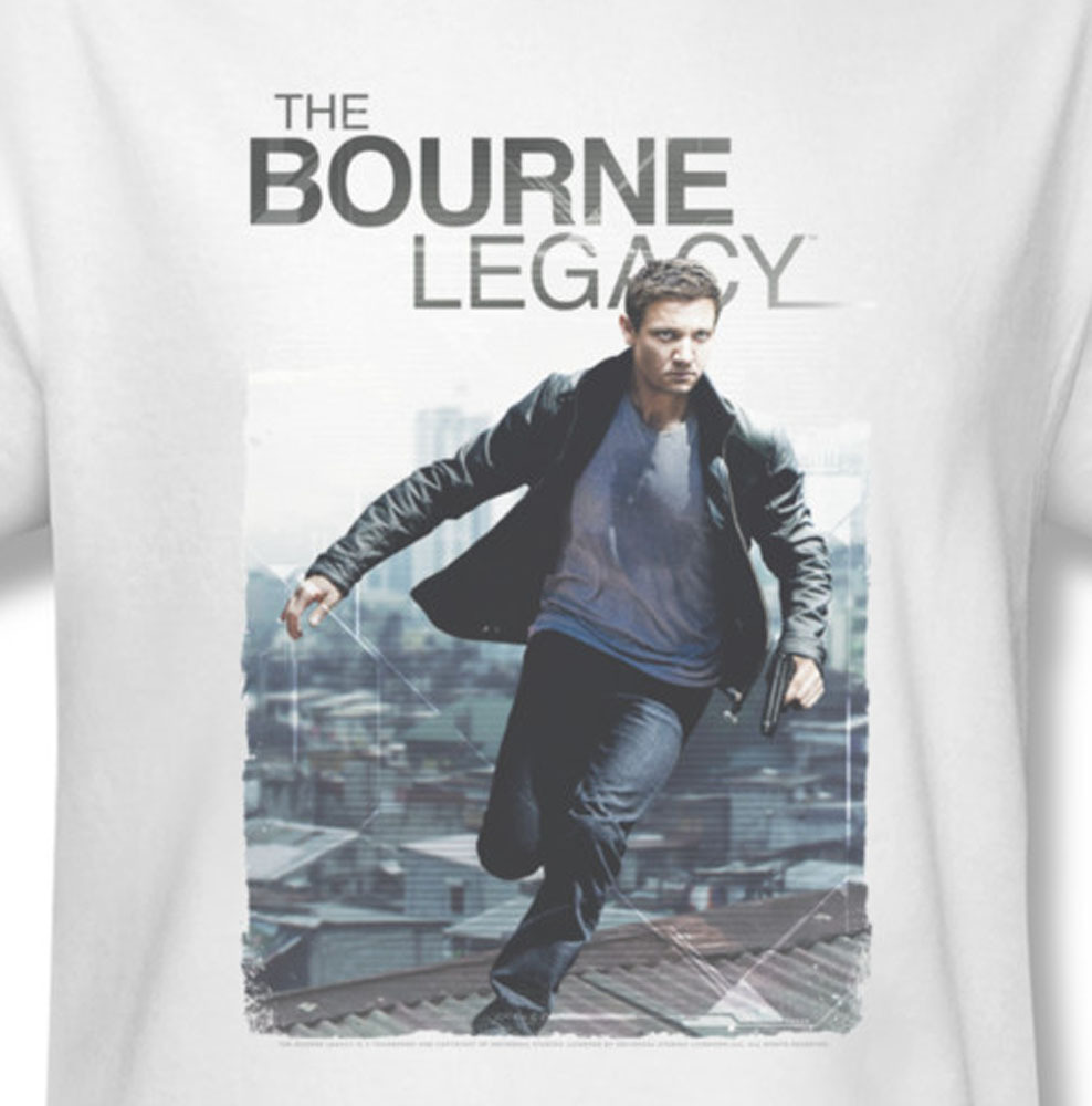 The bourne legacy aaron cross action thriller movie for sale online graphic white tee uni709 at