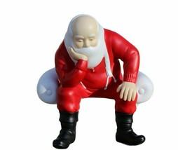 Your Move Santa Dept 56 Porcelain Bisque Santa Sitting in Chair NO CHECK... - $18.66